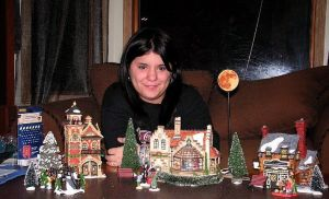 Morgana and the first Christmas village