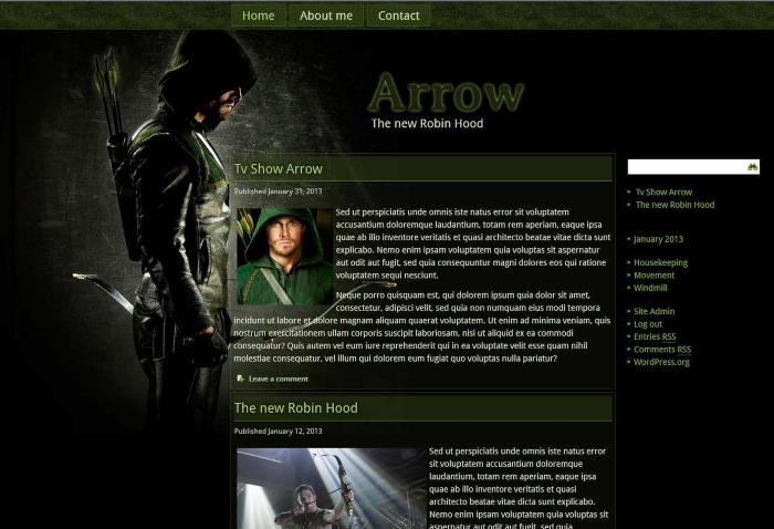 The Best Nerdy WordPress Themes to Satisfy Your Inner Geek - Arrow