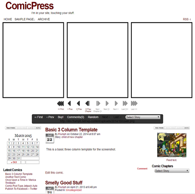 The Best Nerdy WordPress Themes to Satisfy Your Inner Geek - ComicPress