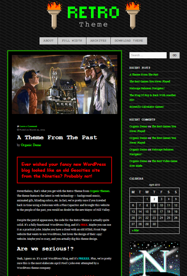 The Best Nerdy WordPress Themes to Satisfy Your Inner Geek - Digital ...