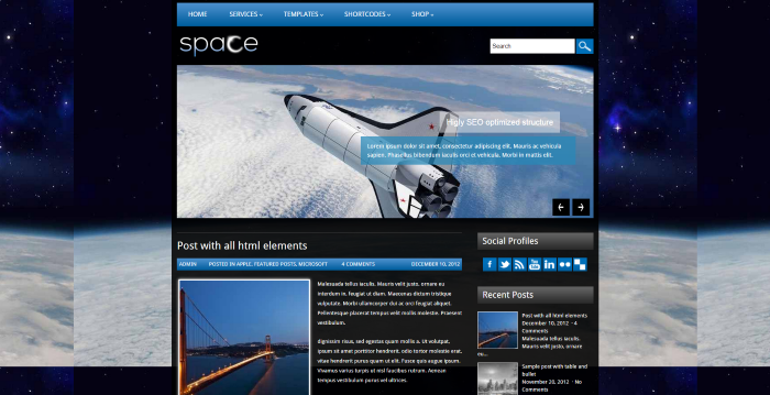 The Best Nerdy WordPress Themes to Satisfy Your Inner Geek - Space